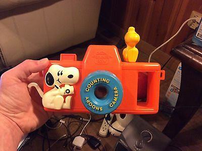 Vintage Romper Room Snoopy Counting Camera Toy