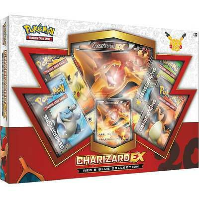POKEMON RED & BLUE COLLECTION * Charizard EX Box