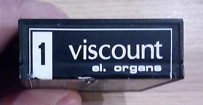 Viscount organ songs cartridge