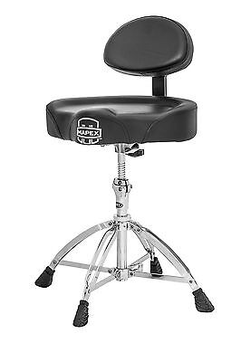 Mapex T775 Saddle Throne with Back Rest