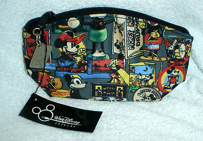 MICKEY MOUSE by NICOLE MILLER Makeup bag Walt Disney Gallery Collection