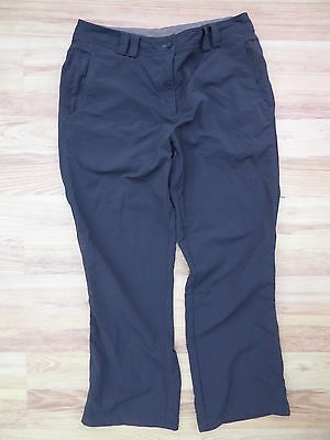 Rohan Fusion Hiking Walking Trousers Women's Size 16 Dark Khaki