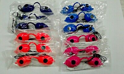Tanning Bed Eyewear Sunnies Goggles  DOZEN assorted