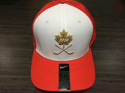 2017 World Juniors Championship Team Canada WJC IIHF Hat Cap Gold Red OSFM