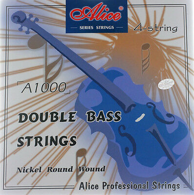 Contrebasse Cordes DOUBLE BASS Strings NEUF