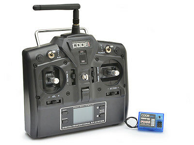 Core RC Code 2.4GHz 3-Channel FHSS LCD Stick Combo #CR151