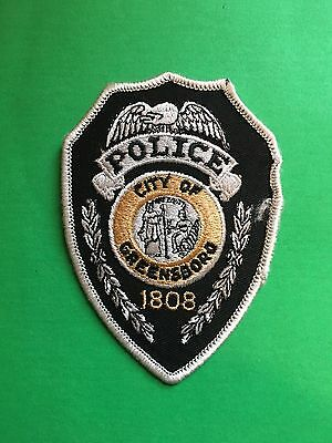 Greensboro North Carolina  Police Patch