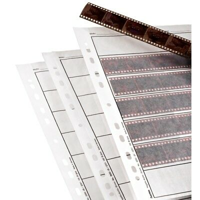 Hama 35mm Negative Storage Pages for Ringbinder pack 100 Sheets Sleeves Strips
