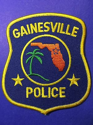 Gainesville Florida Police  Shoulder  Patch