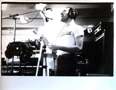 "FREDDIE MERCURY of QUEEN Original 11"" x 14"" Photograph from ONE VISION Session"