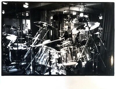 """ROGER TAYLOR of QUEEN Original 11"""" x 14"""" Photograph from ONE VISION Session"""