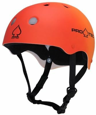 Protec Classic Skate Helmet - Red Orange Fade  - Size Large - Skate Scooter