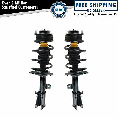 FCS Complete Loaded REAR Struts /& Spring Assembly fits 2007-10 CHRYSLER SEBRING