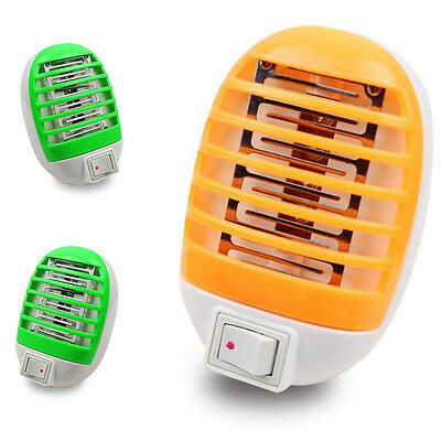 Hot Sale Mosquito Fly Bug Insect Night Lamp LED Electric Trap Killer USA Plug