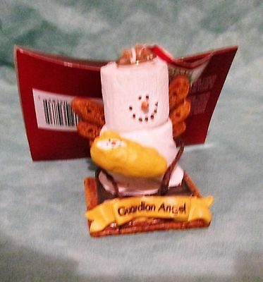 S'mores GUARDIAN ANGEL collectible ornament- NEW w/tags