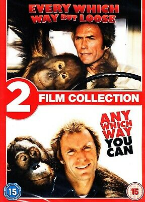 Any Which Way You Can + Every Which Way But Loose New DVD Region 4