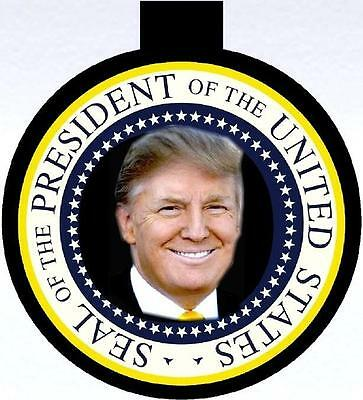 PRESIDENT DONALD J TRUMP Collectible Photo Christmas Ornament 45th US President
