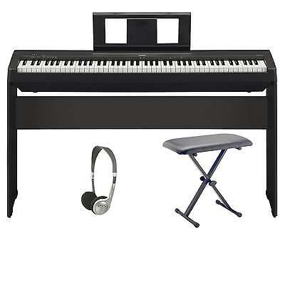 Yamaha P45 Digital Piano Pro Bundle