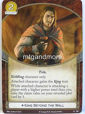 The Winds of Winter A Game of Thrones LCG 1x The Wall  #037