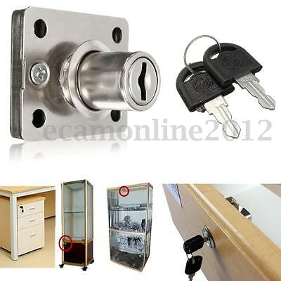 Quality Cam Lock for Office Cabinet Mailbox Drawer Wardrobe with 2 Keys New