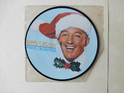 "Bing Crosby White Christmas 3 Track 7"" Picture Disc (Silent Night)"
