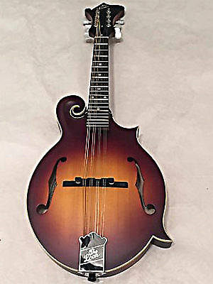 The Loar LM-590-MS Contemporary Series F-Style Mandolin All Solid Hand Carved