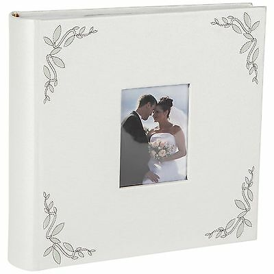 Levivo Wedding/Couples Photo Album with pockets for 200 photos NEW