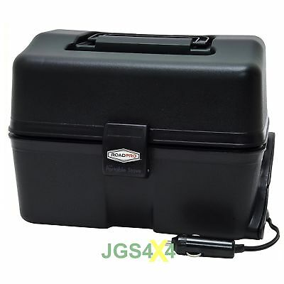 RoadPro 12V Portable Stove In Car Cooker Food Warmer