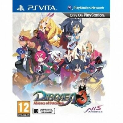 Disgaea 3 Absence Of Detention Game PS Vita Brand New