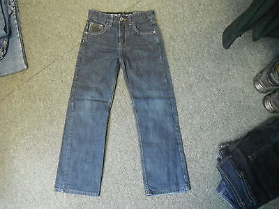 "Next Straight Fit Jeans W 26"" L 25"" Faded Dark Blue Boys 11 Yrs Jeans"