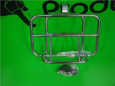 Cuppini Chrome Front Rack New Fits Vespa Gts 125 250 300