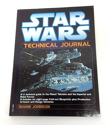 1994 Star Wars: Technical Journal Softcover Reference Book from UK- 190+ Pages