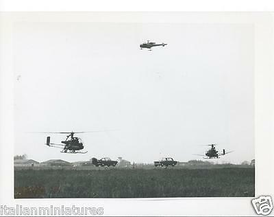 Fiat 850 Coupe Fiat 124 With Helicopters Cnetro Sicurezza Orbassano Photograph