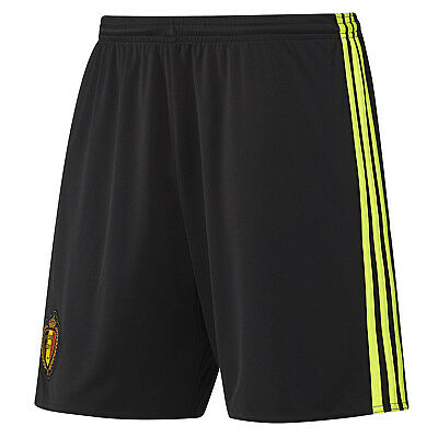 adidas Performance Belgium 2016-17 Football Replica Boys Kids Home Shorts