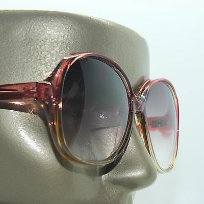 Hollywood Fame Big Wine Red Frame +3.75 Tinted Bifocal Reading Sun Glasses