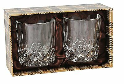 Harvey Makin Whiskey Glass Pair All the Best Gift For Him HM470