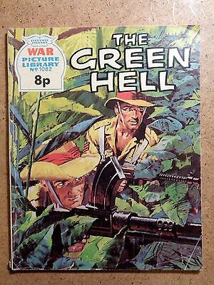War Picture Library Comic No.1082 The Green Hell 1975 Vintage Fleetway Battle