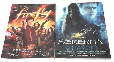 Firefly Official Companion & Serenity Official Visual Companion - Book Set of 2