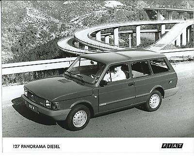 Fiat 127 Panorama Diesel Press Photograph Mint Condition