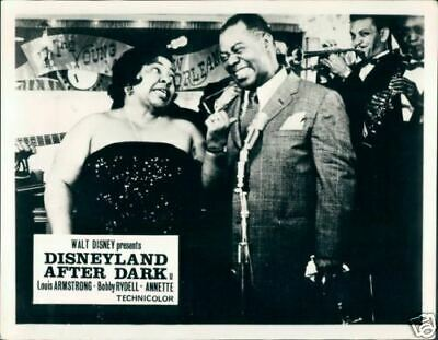 Disneyland After Dark Louis Armstrong Lobby Card Rare