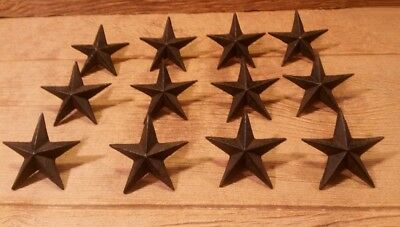 Cast Iron Nail Star - Large (Set of Twelve) Home Decor 0170S-02110