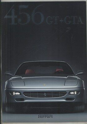 1997 Ferrari 456 GT GTA Prestige Brochure Italian German English French ww4243