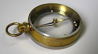Vintage Quality French Pocket Compass 1930';s