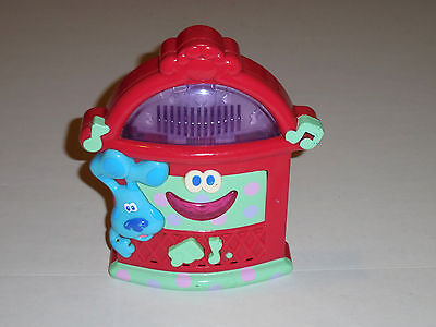 Blue's Clues Boogie Woogie Jukebox Talks Plays Music Lights Up Dance Party