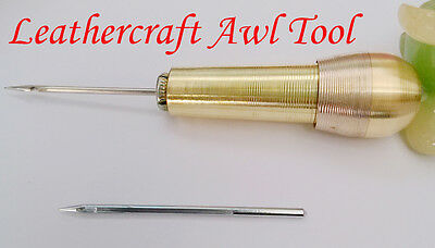 4.4inch Needles Sewing Awl Tool Leather Craft Awning Sails Canvas Tent Repairing