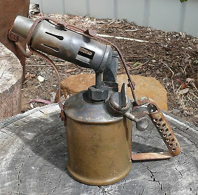 Old Antique blow torch blowtorch companion