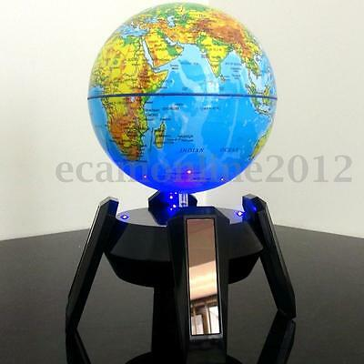 Electric Automatic Rotary World Globe Earth Atlas Map Geography Educational Toy