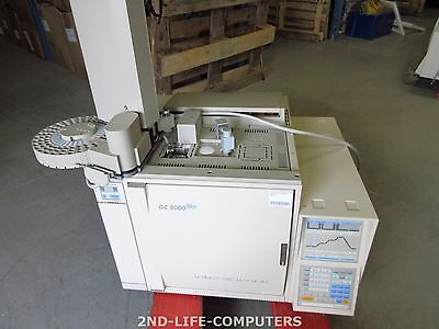 Interscience GC 8000 Top  FID with purge & trap gas chromatograph