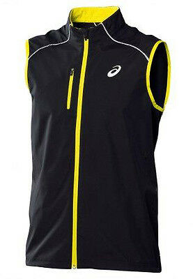 Asics Speed Gore Mens Running Gilet - Black
