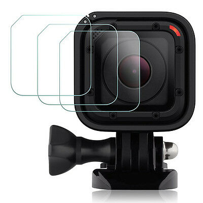 3X REAL Tempered Glass Screen Protector Film for GoPro Hero4 Hero5 Session